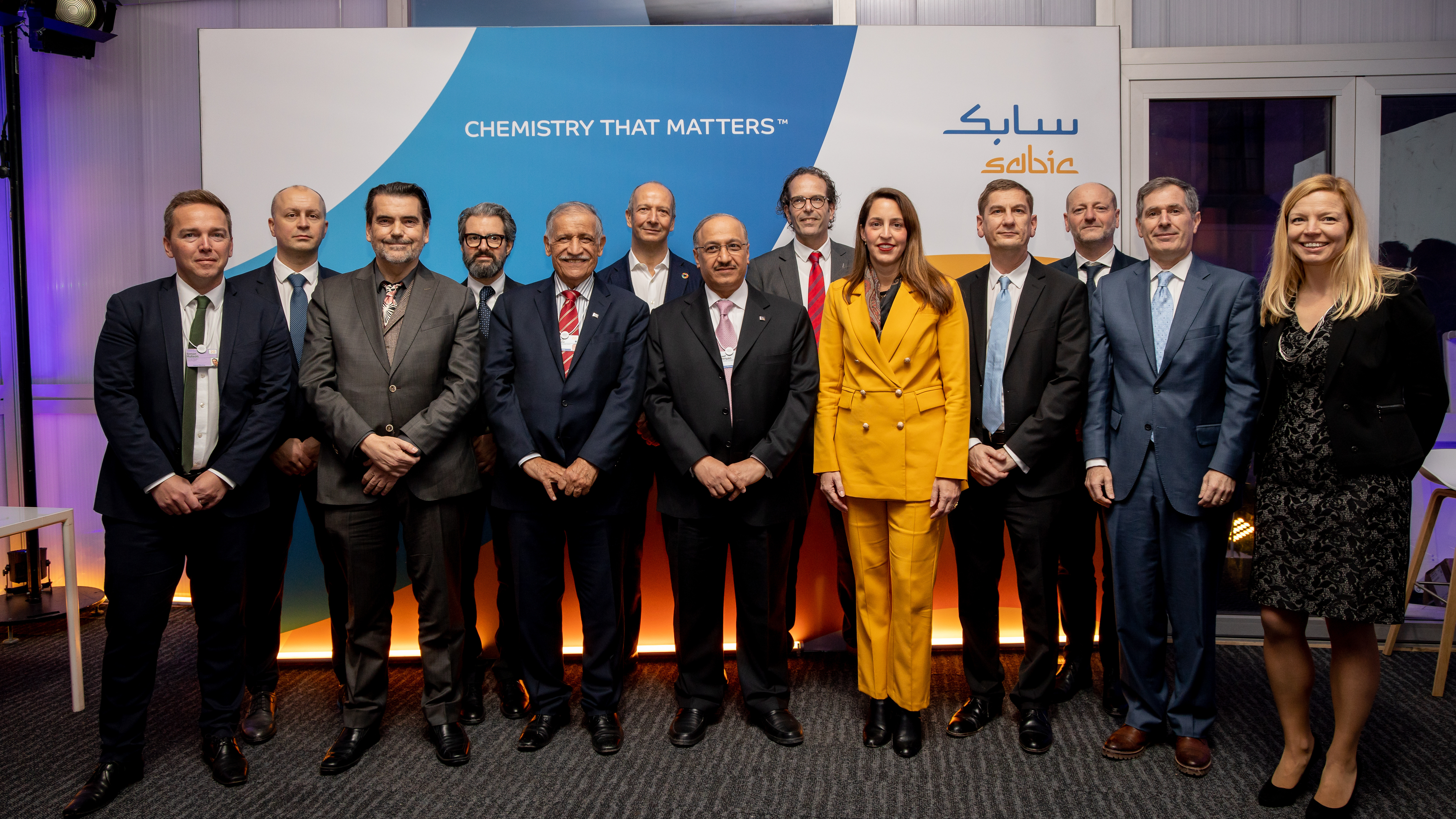World Economic Forum 2020: SABIC is collaborating with PLASTIC ENERGY on the chemical recycling of plastics, as part of their TRUCIRCLE portfolio of solutions