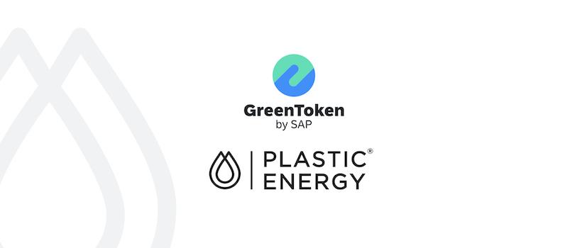 SAP's GreenToken and Plastic Energy Announce Plastic-Tracing Blockchain System
