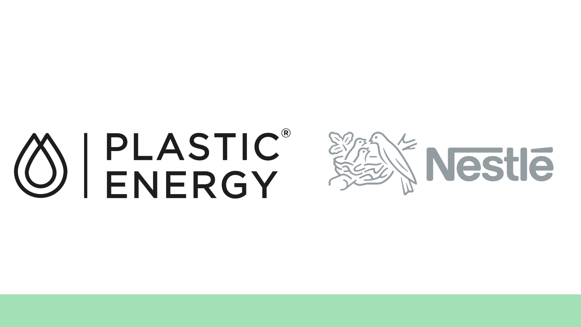 Nestlé partners with Plastic Energy in first steps for recycling facility in the UK