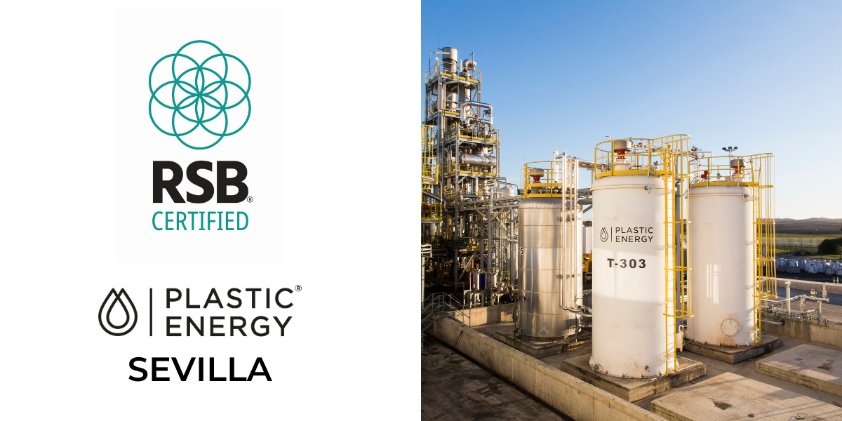 Plastic Energy achieves RSB Certification for Recycling Plant in Sevilla, Spain