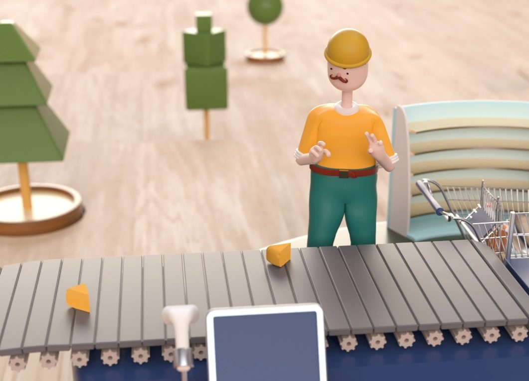 Closed-Loop Recycling Animation