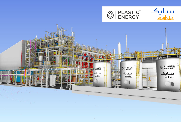 SABIC and Plastic Energy set to start construction of pioneering advanced recycling unit to increase production of certified circular polymers